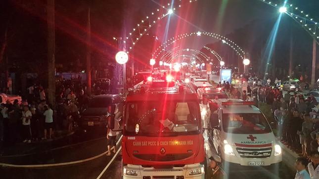 Cháy tòa nhà Dầu khí ở Thanh Hóa, 12 người thương vong ảnh 1