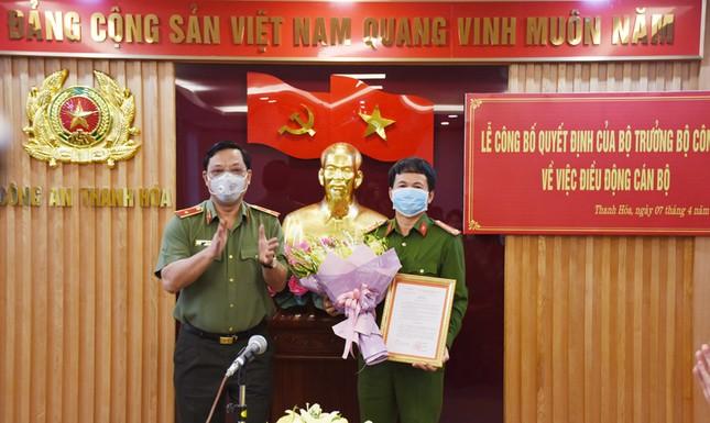 Đại tá Nguyễn Quang Huy giữ chức phó giám đốc Công an tỉnh Thanh Hoá ảnh 1