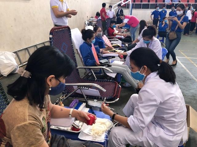 Hơn 260 cán bộ, chiến sĩ công an thành phố Huế hiến máu tình nguyện ảnh 5