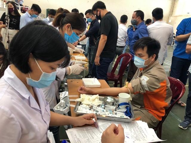 Hơn 260 cán bộ, chiến sĩ công an thành phố Huế hiến máu tình nguyện ảnh 6