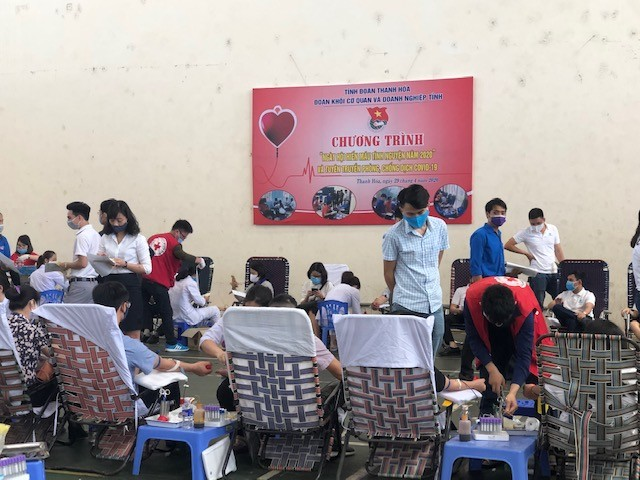 Hơn 260 cán bộ, chiến sĩ công an thành phố Huế hiến máu tình nguyện ảnh 7