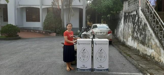 Hàng chục máy lọc nước sạch về với trẻ em vùng núi Thanh Hoá ảnh 1