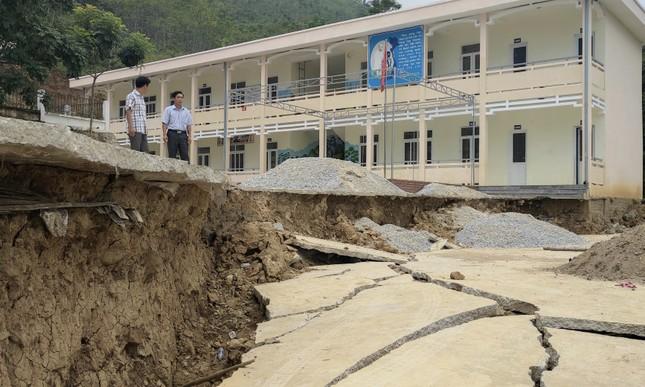 Thanh Hóa: Đóng cửa một trường học vì nguy cơ sụt lún ảnh 1