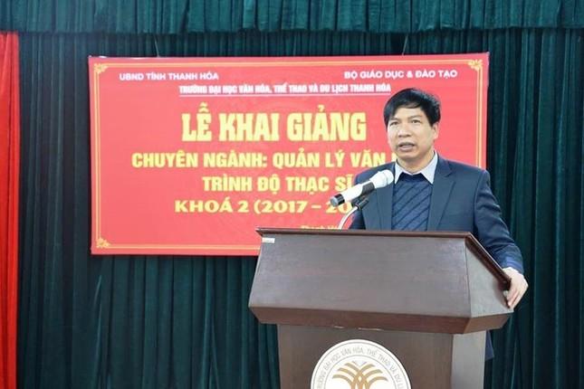 Sở Giáo dục và đào tạo Thanh Hoá có giám đốc mới ảnh 1