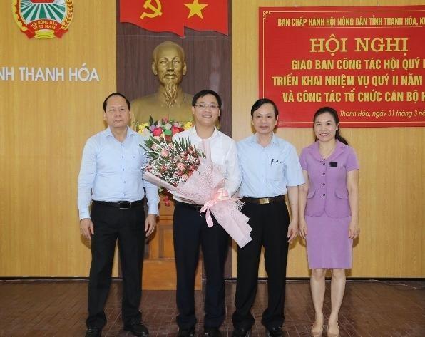 Phó Bí thư Tỉnh đoàn Thanh Hoá được bầu làm Phó Chủ tịch Hội Nông dân ảnh 1