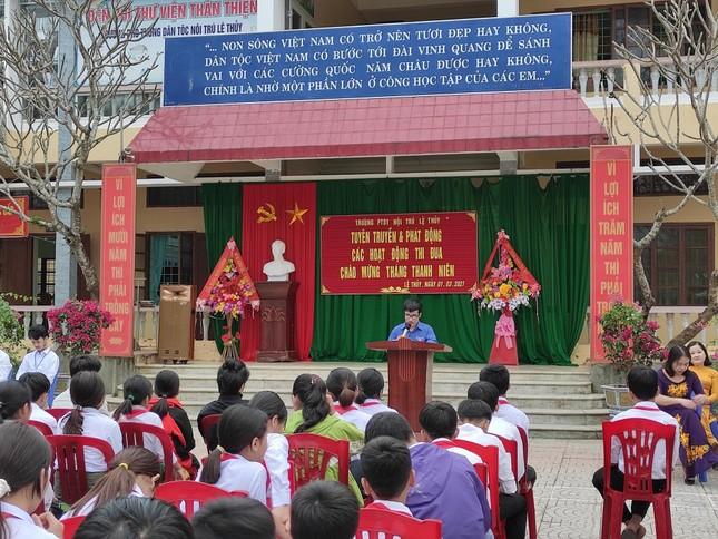 Tuổi trẻ Quảng Bình sôi nổi nhiều chương trình ý nghĩa cho cộng đồng ảnh 1