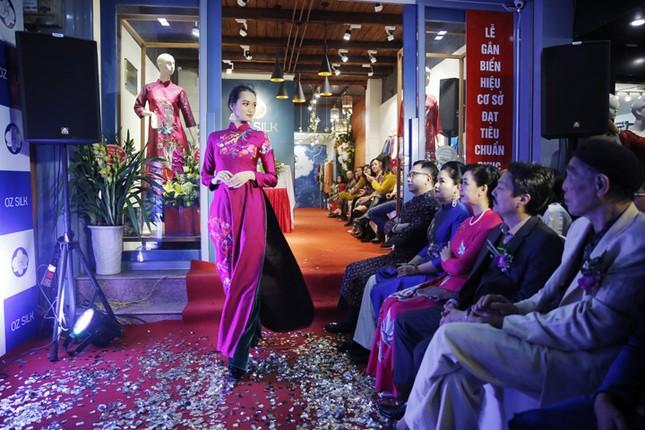 Nghệ sĩ Chiều Xuân khoe nhan sắc rạng rỡ trong tà áo dài ảnh 6