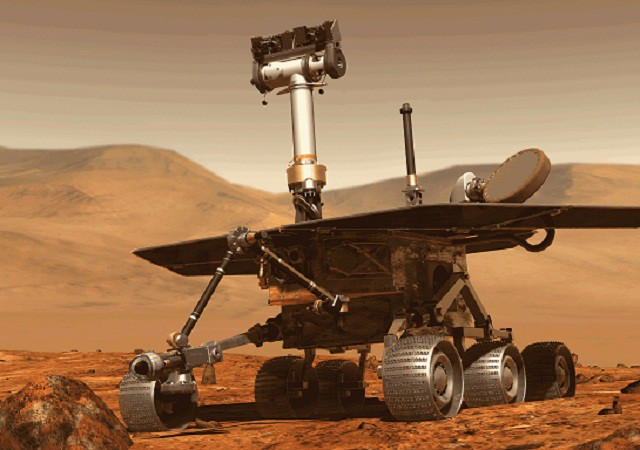 Tìm kiếm chiếc xe thám hiểm sao Hỏa mất tích sau cơn bão bụi ảnh 1