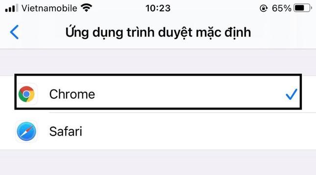 Hướng dẫn thay đổi trình duyệt mặc định trên iPhone ảnh 4