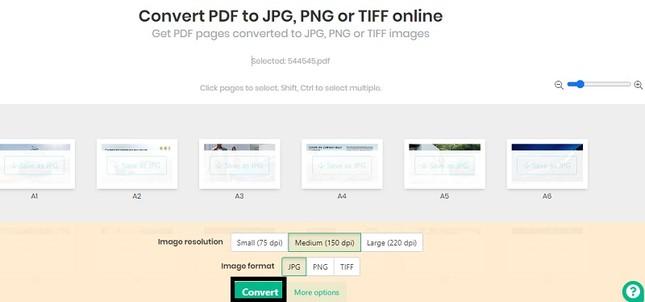 Hướng dẫn chuyển đổi file PDF sang JPG ảnh 3