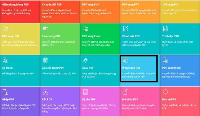 Hướng dẫn chuyển đổi từ file Word sang PDF không cần phần mềm ảnh 1