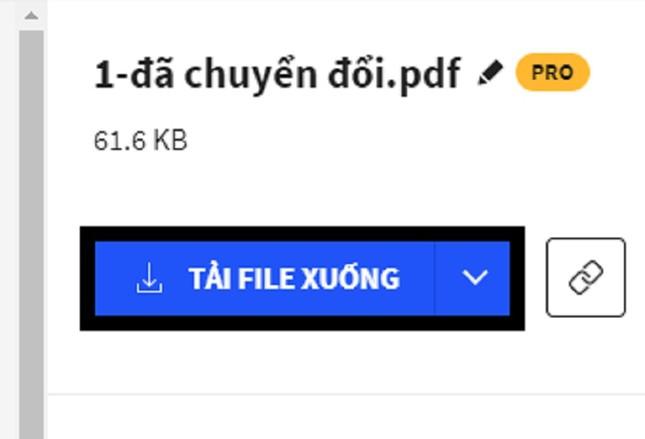 Hướng dẫn chuyển đổi từ file Word sang PDF không cần phần mềm ảnh 3