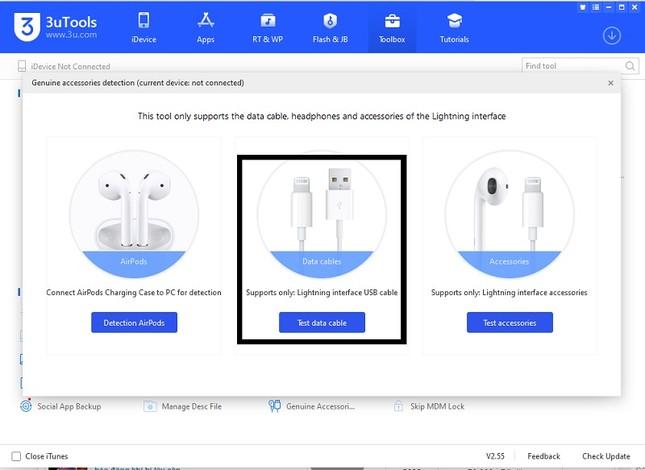 Cách kiểm tra cáp sạc iPhone, iPad chính hãng ảnh 4