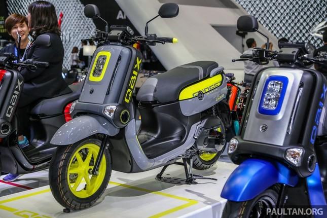 Scooter và concept Yamaha hút người xem ở triển lãm Bangkok ảnh 1