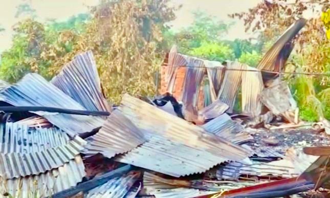 Hỏa hoạn ngày mùng Hai Tết, 4 căn nhà ở Cần Thơ bị thiêu rụi ảnh 1