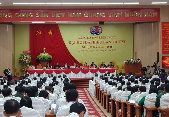 Phó Thủ tướng Thường trực Trương Hoà Bình chỉ đạo Đại hội Đảng bộ tỉnh Kiên Giang ảnh 3