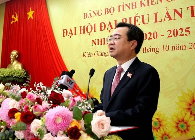 Phó Thủ tướng Thường trực Trương Hoà Bình chỉ đạo Đại hội Đảng bộ tỉnh Kiên Giang ảnh 1