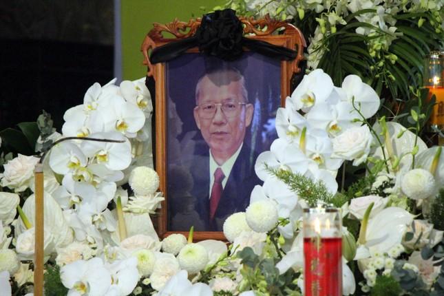 Xúc động dòng sổ tang tưởng nhớ, tiễn biệt nguyên Phó Thủ tướng Trương Vĩnh Trọng ảnh 7