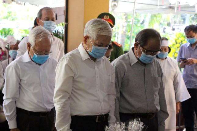 Xúc động dòng sổ tang tưởng nhớ, tiễn biệt nguyên Phó Thủ tướng Trương Vĩnh Trọng ảnh 1