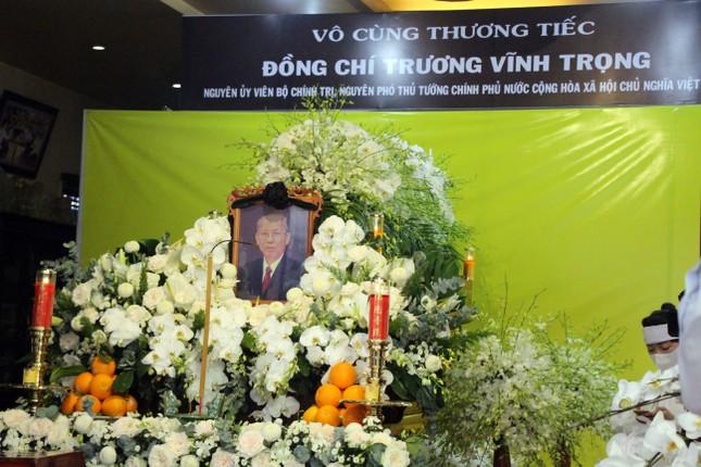 Xúc động dòng sổ tang tưởng nhớ, tiễn biệt nguyên Phó Thủ tướng Trương Vĩnh Trọng ảnh 3