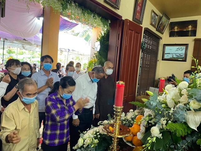 Xúc động dòng sổ tang tưởng nhớ, tiễn biệt nguyên Phó Thủ tướng Trương Vĩnh Trọng ảnh 6