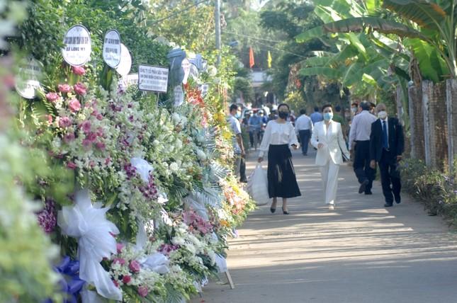 Xúc động dòng sổ tang tưởng nhớ, tiễn biệt nguyên Phó Thủ tướng Trương Vĩnh Trọng ảnh 5