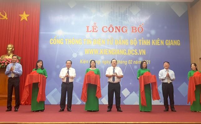 Cổng thông tin điện tử Kiên Giang chính thức hoạt động ảnh 1
