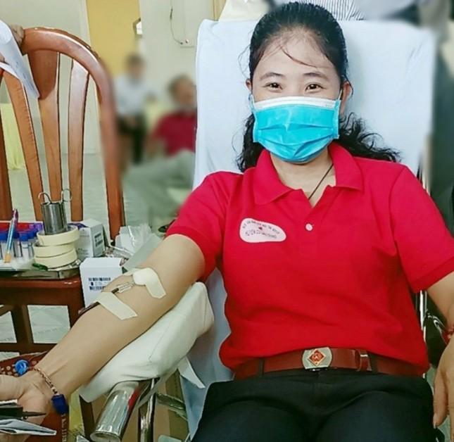 Ngày hội hiến máu tình nguyện ở huyện Cù Lao Dung ảnh 1