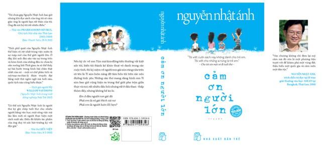 """Nguyễn Nhật Ánh """"Cảm ơn người lớn"""" ảnh 1"""