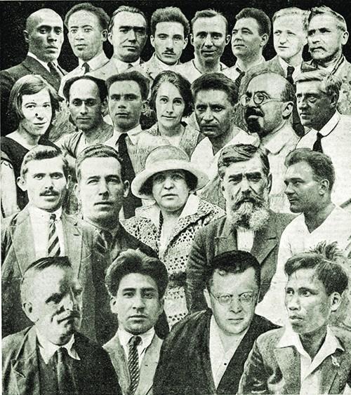 Nguyễn Ái Quốc và các đoàn viên công xã Leninsky Zakal ảnh 3