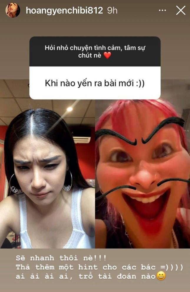 Hoàng Yến Chibi úp mở tái xuất V-Pop với người giấu mặt, fan đồng loạt gọi tên Tlinh ảnh 2