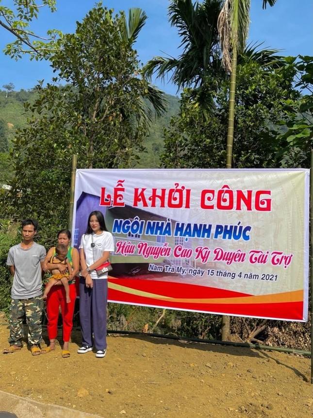 Hoa hậu Kỳ Duyên về Quảng Nam xây nhà cho bà con tái thiết cuộc sống sau lũ ảnh 3