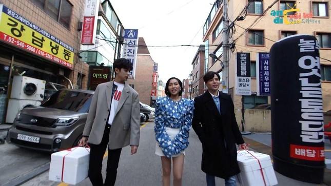 """Diệu Nhi lại hóa fangirl """"u mê"""" khi đối mặt với trai đẹp Kim Min Kyu trong """"Ăn Đi Rồi Kể"""" ảnh 4"""