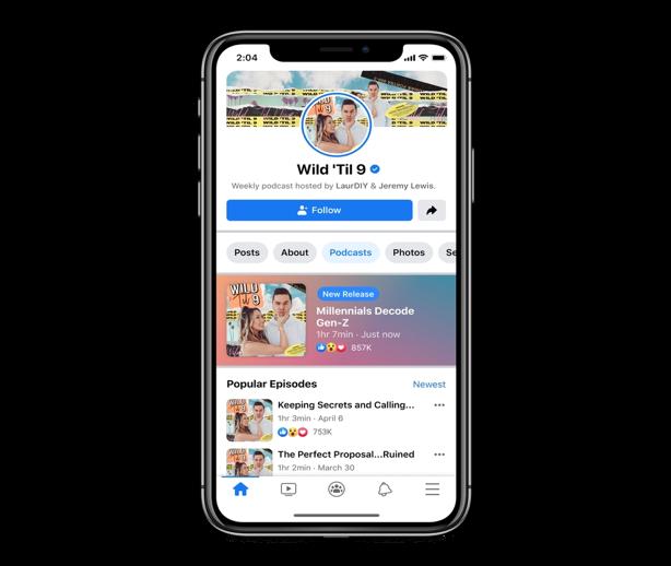"""Loạt """"phép thuật Winx"""" mới của Facebook: Phòng thu """"bỏ túi"""", kiếm tiền từ nội dung Podcast ảnh 2"""