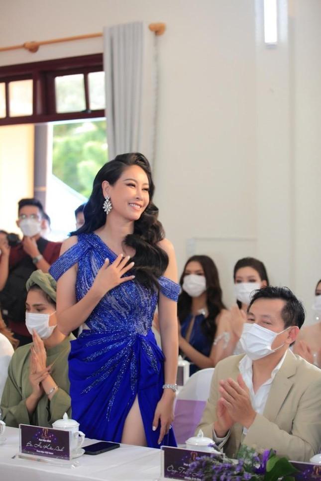 """Trúc Diễm, Nam Em, Phương Khánh hội ngộ tại sự kiện công bố """"Miss Earth Vietnam 2021"""" ảnh 4"""