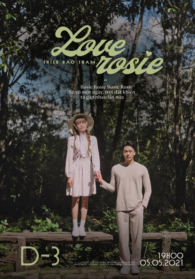 """Thiều Bảo Trâm tung teaser cho """"Love Rosie"""", tên ca khúc mới có liên quan BLACKPINK Rosé? ảnh 5"""