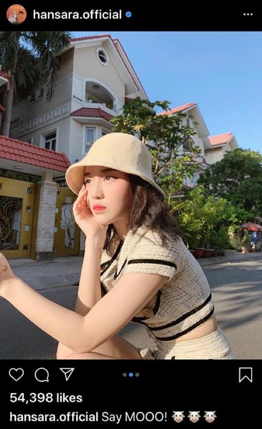 Sao Việt 24H: Lan Ngọc mừng Instagram đạt 3 triệu followers, Han Sara khoe dáng cực xinh ảnh 4