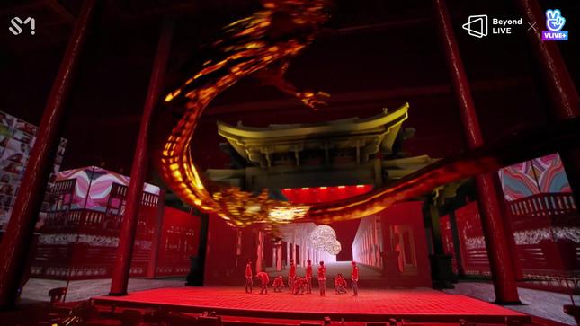 NCT 127 đưa rồng lên sân khấu, trình diễn bài hát chưa phát hành trong concert trực tuyến ảnh 4