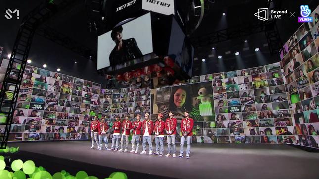 NCT 127 đưa rồng lên sân khấu, trình diễn bài hát chưa phát hành trong concert trực tuyến ảnh 1
