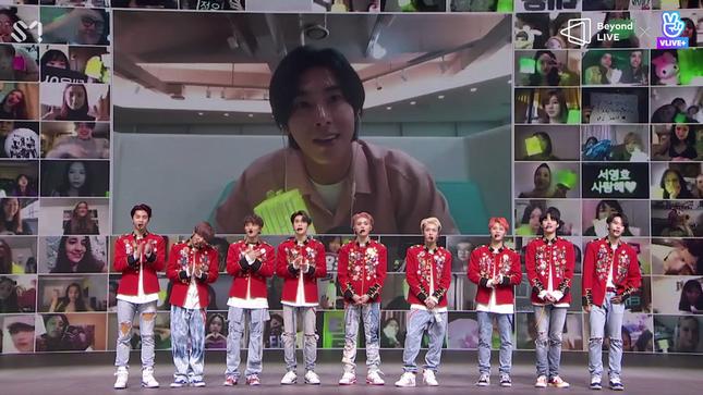 NCT 127 đưa rồng lên sân khấu, trình diễn bài hát chưa phát hành trong concert trực tuyến ảnh 5