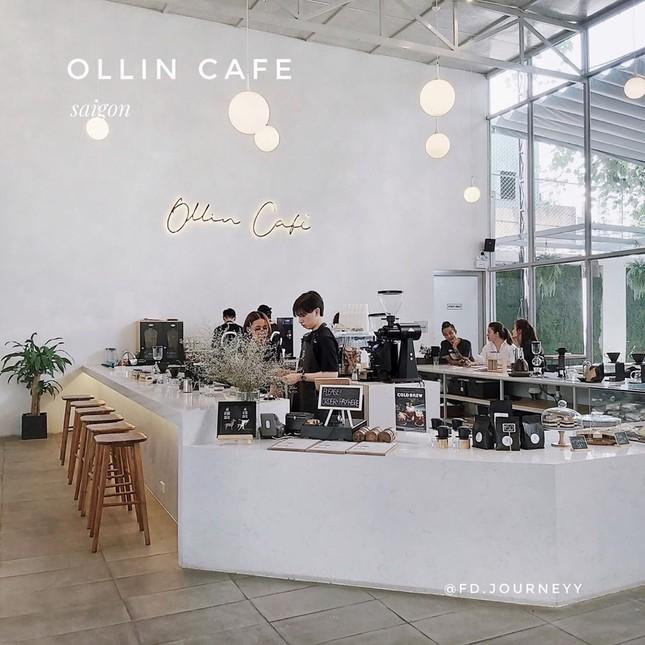 """Ngất ngây với những thiên đường café """"trắng tinh"""" và """"đen tuyền"""" ở Sài Gòn ảnh 5"""