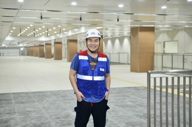 Theo chân Hamlet Trương khám phá ga ngầm siêu hiện đại của tuyến Metro số 1 ở TP.HCM ảnh 5