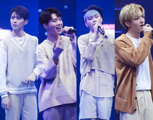 """Boygroup """"em trai MAMAMOO"""" trình diễn với 4 thành viên sau scandal của hotboy Trần Bình  ảnh 1"""
