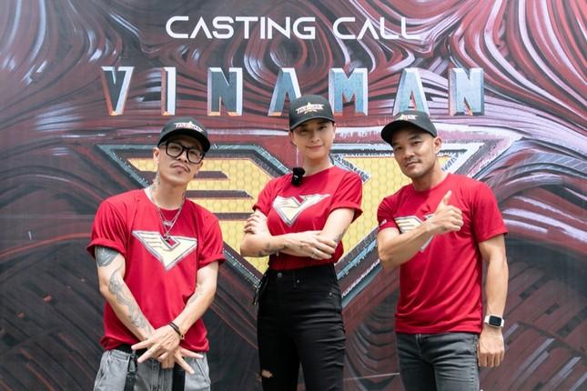 """Ngắm loạt ảnh """"cool ngầu"""" của các """"soái ca"""" V-Biz trong buổi thử vai siêu anh hùng VINAMAN ảnh 9"""
