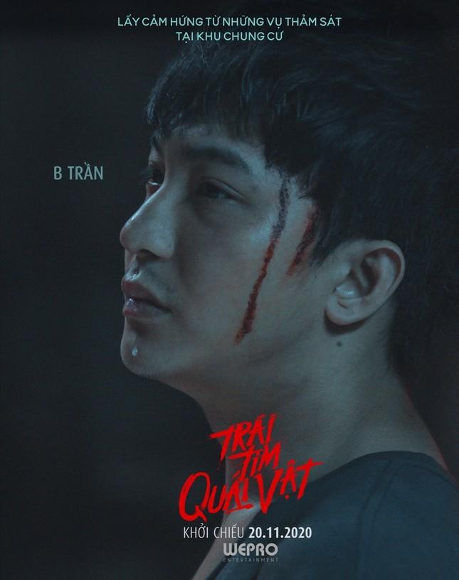 """Hoàng Thùy Linh, Trịnh Thăng Bình xuất hiện đáng sợ trong trailer """"Trái tim quái vật"""" ảnh 3"""