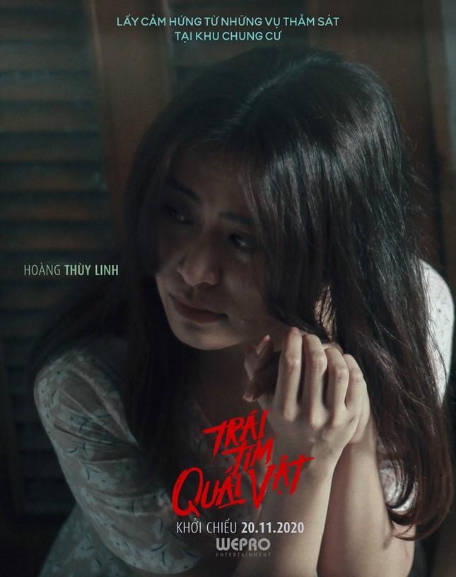 """Hoàng Thùy Linh, Trịnh Thăng Bình xuất hiện đáng sợ trong trailer """"Trái tim quái vật"""" ảnh 2"""