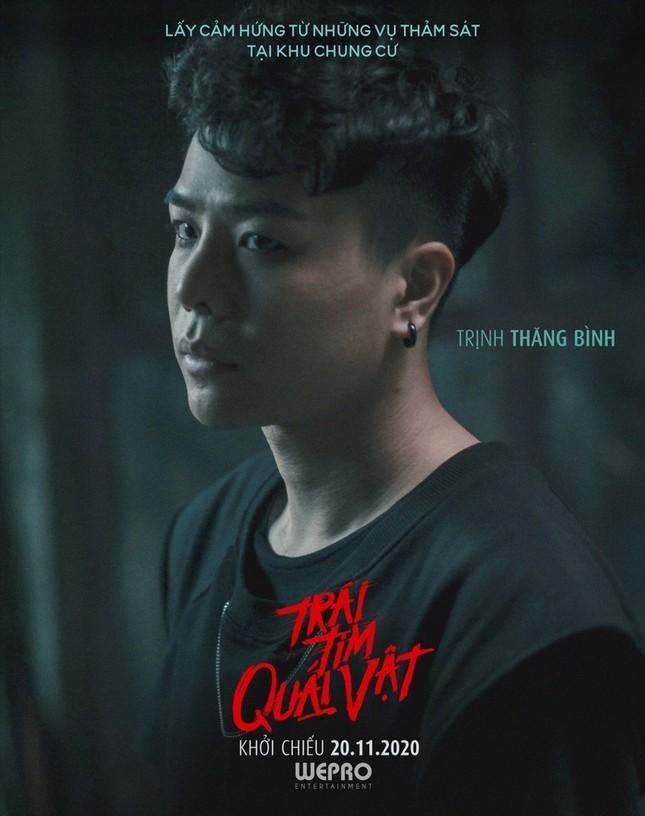 """Hoàng Thùy Linh, Trịnh Thăng Bình xuất hiện đáng sợ trong trailer """"Trái tim quái vật"""" ảnh 5"""