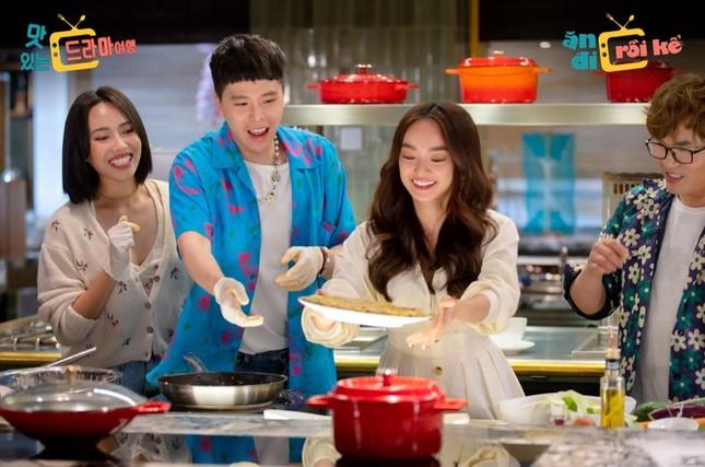 Trịnh Thăng Bình, Diệu Nhi cùng Oh My Girl, Momoland khám phá ẩm thực Việt Nam ảnh 3