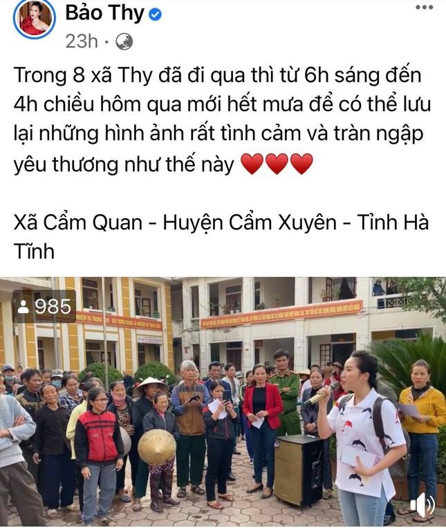 Trấn Thành, Bảo Thy, Đại Nghĩa và nhiều sao Việt một lòng hướng về miền Trung mùa bão lũ ảnh 6