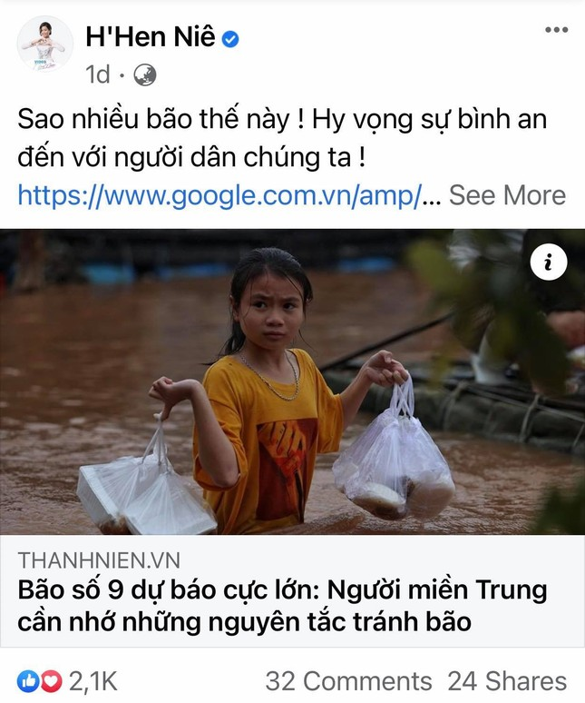 Trấn Thành, Bảo Thy, Đại Nghĩa và nhiều sao Việt một lòng hướng về miền Trung mùa bão lũ ảnh 2